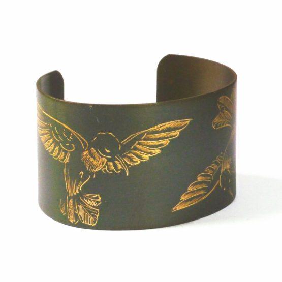 Manchette 35 mm colibri