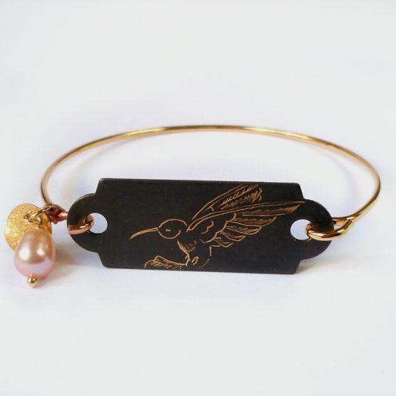Bracelets dur collection Colibri