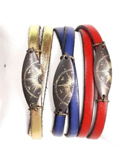Bracelets cuir collection Stellaire