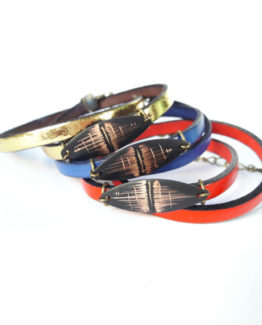 Bracelets cuir collection Reflet