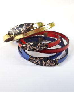 Bracelets cuir collection Dentelle