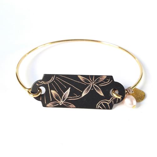 Bracelet dur collection Dentelle