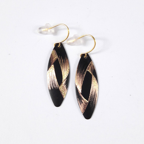 Boucles d'oreilles marquise collection Ruban