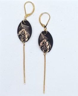 boucles d'oreilles étiquettes collection Jungle