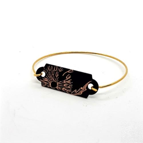 Bracelet dur collection Pissenlit