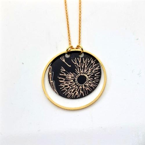 Collier Cercle collection Pissenlit
